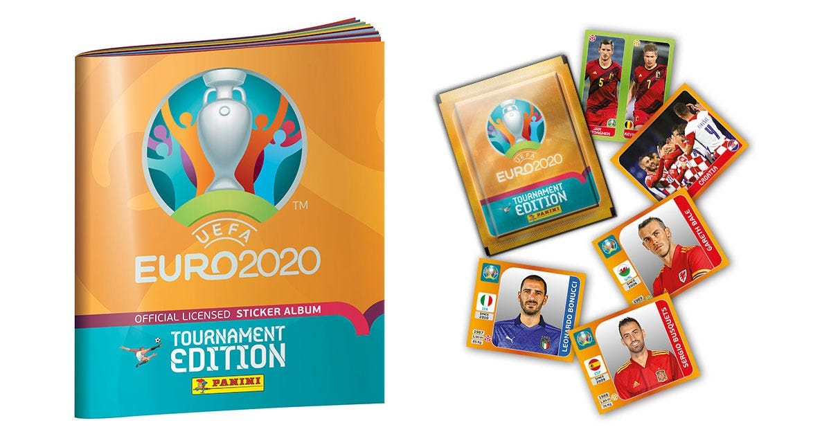 The UEFA EURO 2020 Official Sticker Collection
