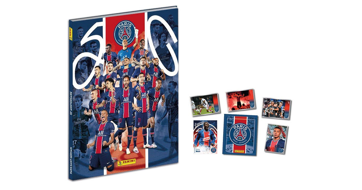 PARIS SAINT-GERMAIN 50e ANNIVERSAIRE