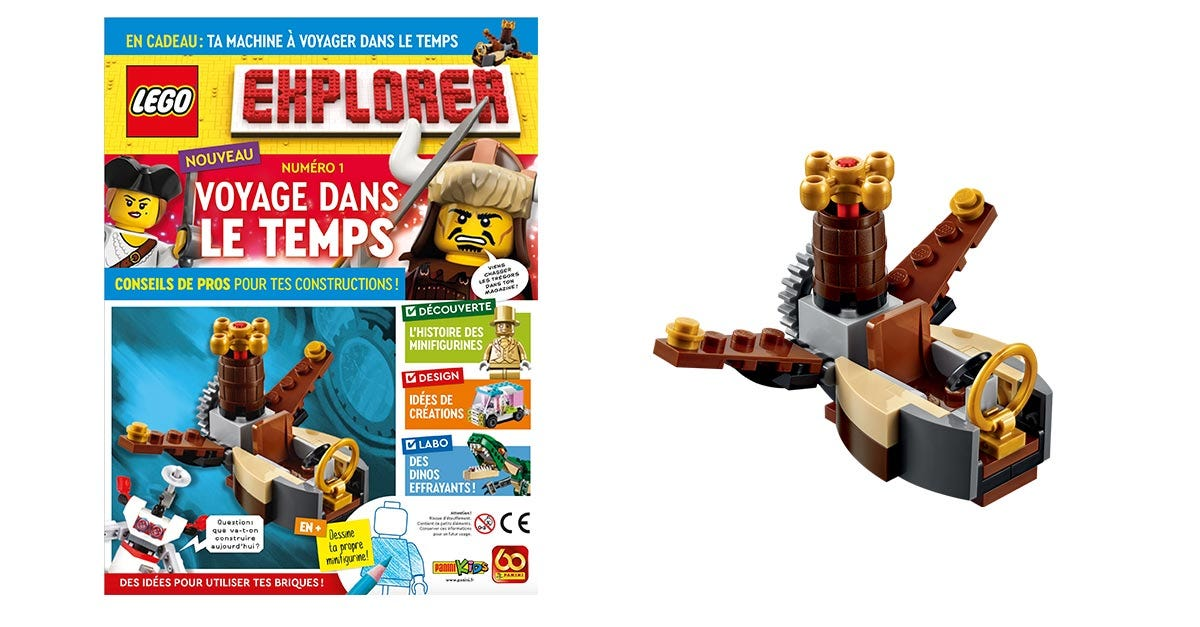 LEGO EXPLORER – LE NOUVEAU MAGAZINE DES CONSTRUCTEURS EN HERBE