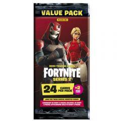 Fortnite Series 2 - La Value Pack 24 cartes + 2 cartes bonus