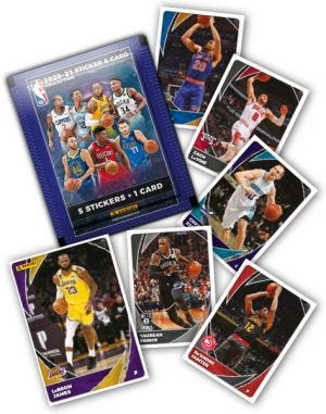 2020-2021 PANINI NBA STICKER AND CARD COLLECTION - Images manquantes