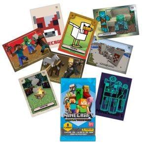 MINECRAFT Adventure Trading Card - cartes manquantes