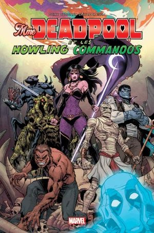 100% MARVEL: MRS. DEADPOOL'S HOWLING COMMANDOS - RIEDIZIONE