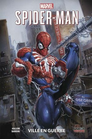 100% MARVEL: MARVEL'S SPIDER-MAN: CITY AT WAR