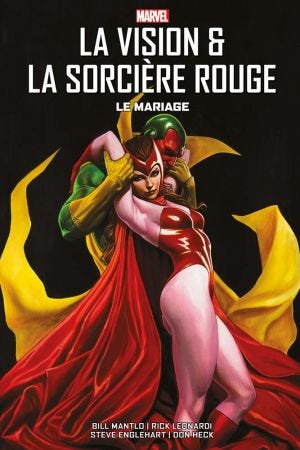 BEST OF MARVEL: VISION & THE SCARLET WITCH - LETTERING + RIE