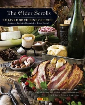 THE OFFICIAL COOKBOOK - ELDER SCROLL