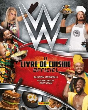 THE OFFICIAL COOKBOOK - WWE
