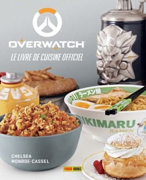 THE OFFICIAL COOKBOOK - OVERWATCH