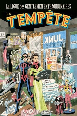 LEAGUE OF EXTRAORDINARY GENTLEMEN: TEMPEST (T04)
