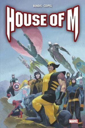 MARVEL DELUXE: HOUSE OF M - RESIZING