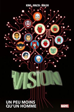 MARVEL DELUXE: VISION (STAMPA IN ITALIA) - RESIZING