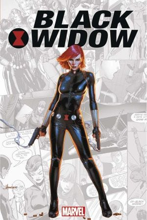 HORS COLLECTION: MARVEL-VERSE - BLACK WIDOW - RESIZING + LET