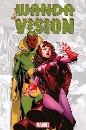 HORS COLLECTION: MARVEL-VERSE - WANDA & VISION - RESIZING