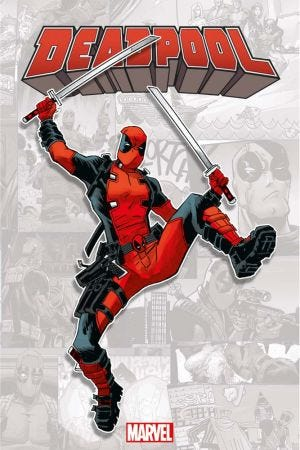 HORS COLLECTION: MARVEL-VERSE - DEADPOOL - RESIZING