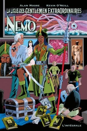 LEAGUE OF EXTRAORDINARY GENTLEMEN - NEMO (1-3) (RIMESSA A FO
