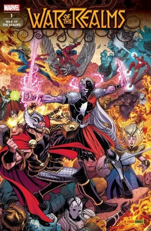 WAR OF THE REALMS N.1