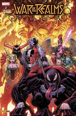 WAR OF THE REALMS N.2