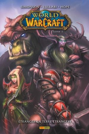 WORLD OF WARCRAFT COMICS T01
