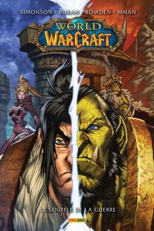 WORLD OF WARCRAFT COMICS T03