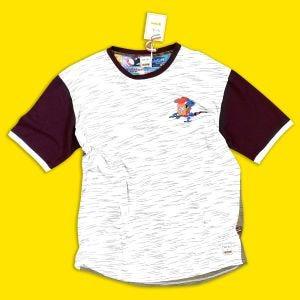 T-shirt Chevalier Panini imprimé sur la poitrine