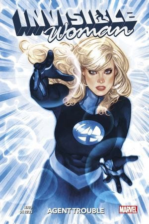 100% MARVEL: INVISIBLE WOMAN