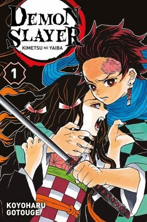 DEMON SLAYER - KIMETSU NO YAIBA T.01