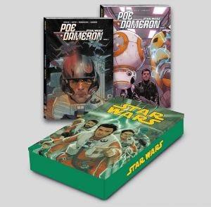 Coffret métal Star Wars : Poe Dameron T01 et T02