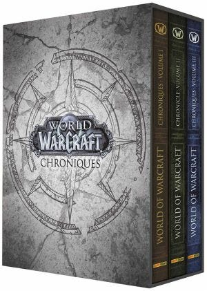 WOW CHRONICLES - COFFRET 2020 T1 2 3 + LITOS