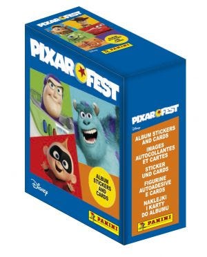 Pixar Fest - Boîte de 24 pochettes